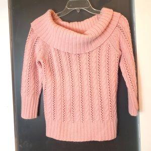 Express | Cashmere Blend Pink Knit Sweater S